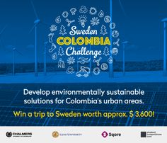 Colombian student wins travel grant to Sweden