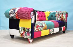COLOR PATCH - chesterfield patchwork sofa