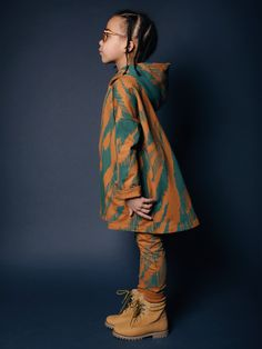Odd colour combinations are a feature at Mainio kidswear from Finland