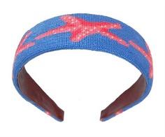 needle point starfish headband <3