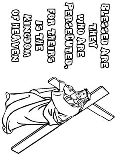 Christian Creations S Bu Beatitudes Coloring Pages