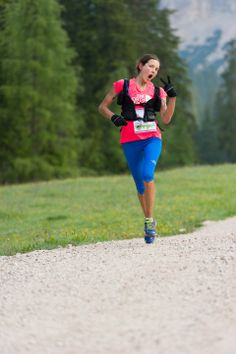 Rory Bosio, North Face Ultra Runner with a great attitude towards adversity during running