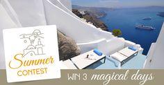 Santorini, Villas, Greece, Italy, Night, Blog, Home Decor, Greece Country, Italia