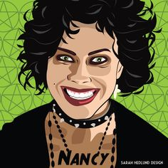 Nancy from The Craft | An Artist Illustrated Popular Witches And The Results Are Spooky
