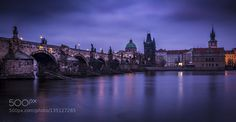 Popular on 500px : Charles Bridge  Prague by ChrisLikins