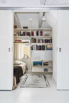 #smallplaces #bedroom #tiny #slidingdoors #interiordesign