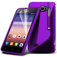 ( Purple ) Huawei Ascend Y550 Case Stylish Designed S Line Wave Gel Skin Cover With LCD Screen Protector Guard, Polishing Cloth & Mini Retractable Stylus Pen by Fone-Case Fone-Case http://www.amazon.com/dp/B00PI5WF78/ref=cm_sw_r_pi_dp_zvwSub1Y5ASPJ