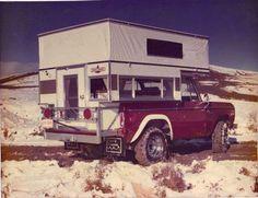 Bronco camper package