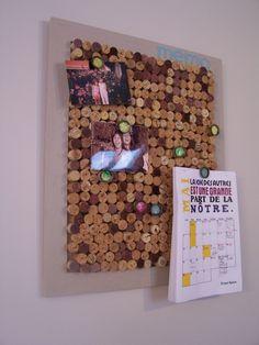 Cork bulletine board