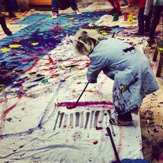 Grans recorreguts, enseñar arte a los niños. En Barcelona todos los jueves | Kireei, cosas bellas