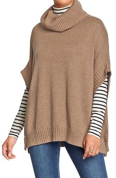 Perfect for fall - funnel neck poncho http://rstyle.me/~2JDsL