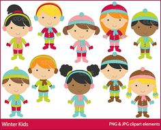 Winter Kids $3.00