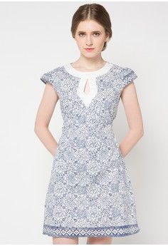 Dorothy Dress from Batik Aryasuta in white_1