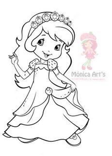 Fresita Princesa, aquí los moldes