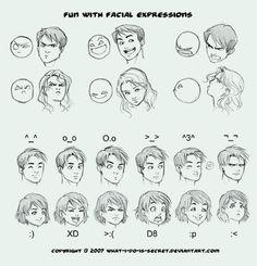 #facial reactions