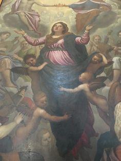 Assunzione di Maria of Domenico Passignano 1592. Discover hidden Tuscany, art and wines on versavino.com