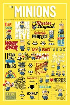 Despicable Me - Infographic - Official Poster