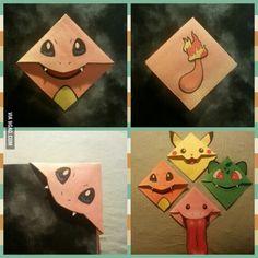 Origami for Everyone – From Beginner to Advanced – DIY Fan Pokemon Craft, Pokemon Party, Pokemon Birthday, Origami Love, Origami Design, Origami Stars, Origami Ball, Origami Flowers, Origami Paper
