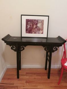 Antique Ornate Table -  $60