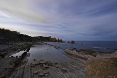Playa de Arnía, Costa Quebrada #Cantabria #Spain #Travel #Coast