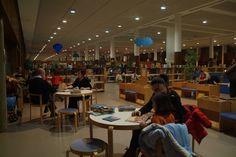 Sección infantil de la Biblioteca Torrente Ballester