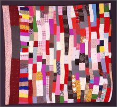 arkansas delta quilts | Tillie Rae & Willie MaeLazy Gal Quilt, ca. 198083 1/2 x 79 inches ...