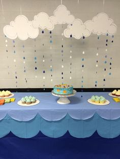 Noah Ark Baby Decorations   Noah's Ark Themed Baby Shower Cake Table Decor!   been there {done ...