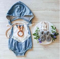 0d3aaaad8128 The Gnome Romper. Baby RompersBaby Girl ...