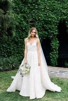 Inside a pretty Melbourne garden wedding: