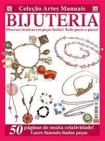 Revista Coleção Artes Manuais Bijuteria - Bijuterias - Artesanato