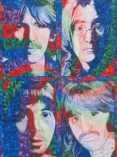 The Beatles Squared Drawing