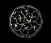 Iron Age Celtic Trumpet Whorl Roundel