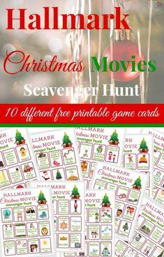 Hallmark Christmas Movies Scavenger Hunt
