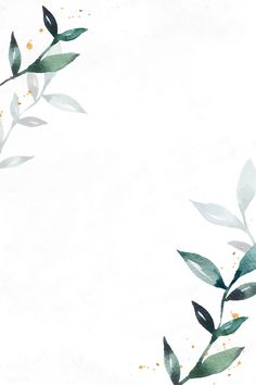 Blank leafy frame design vector | premium image by rawpixel.com / sasi