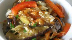 Я хочу с вами поделиться вкуснейшим корейским салатом из баклажанов. Такой салат из баклажанов по-корейски …