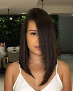 Haare und Frisuren 50 Charming Lengthy Bob Hairstyles Concepts For You Modest Wedding ceremony Attir Medium Bob Hairstyles, Haircuts For Long Hair, Easy Hairstyles, Straight Hairstyles, Hairstyle Ideas, Long Bob Hairstyles For Thick Hair, Newest Hairstyles, Hairdos, Medium Hair Styles