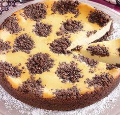Der Käsekuchen mit dem du überall punktest: BLACK 'N WHITE Cheesecake. #pickuprezept