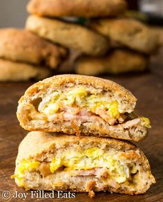 Keto Breakfast Pockets - Low Carb, Gluten Free, THM S, Grain Free, Make-ahead, Freezeable