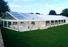 Wedding Marquee with Clear Roof Bar/Reception Area Wedding Marquee Hire, Tent Wedding, Wedding Venues, Dream Wedding, Wedding Marquee Decoration, Luxury Wedding, Garden Wedding, Clear Marquee, Clear Tent