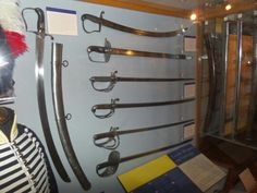 Cavalry swords war of 1812 Canada