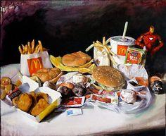 Michael Rousseau: Fast Food/Still Life