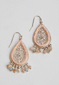 Foreign Kingdom Embellished Earrings at #Ruche @shopruche