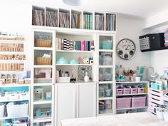 We're so inspired by design team member Soraya Maes' craft room!