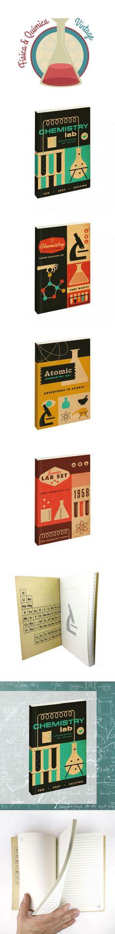 Divertidas notebook para los amantes de la física y química. Un regalo ideal que aprovechará al máximo a todas esas ratas de laboratorio. Con estas libretas no te querrás saltar ni una sola clase. #regalos, #quimica, #fisica, #notebook, #libretas , #cuardesnos, #regalos, #vintage