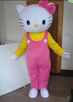 New style Hello Kitty mascot costume adult size!