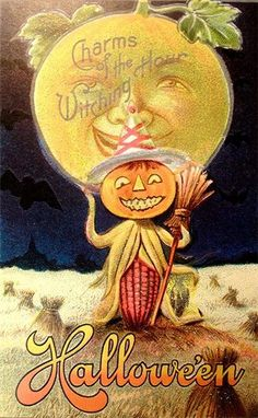 A collection of bizarre Halloween postcards from the early century ~ vintage . A collection of bizarre Halloween postcards from the early century ~ vintag. A collection of bizarre Halloween postcards from the early century ~ vintage . Image Halloween, Fete Halloween, Halloween Pictures, Holidays Halloween, Spooky Halloween, Halloween Crafts, Halloween Stuff, Happy Halloween, Halloween Queen