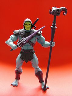 Mattel Masters of the Universe re-issue: Skeletor (2009), photo by J Pidgeon.