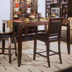 Tribecca Gathering Table by American Drew Wolf Furniture, Counter Height Table, Dining Room, Dining Sets, Table And Chair Sets, American, Maryland, Pennsylvania, Virginia