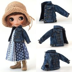 ** Blythe outfit ** Lucalily 289**の画像:mahounote.