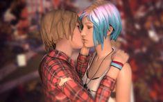 Chloe and Max kiss